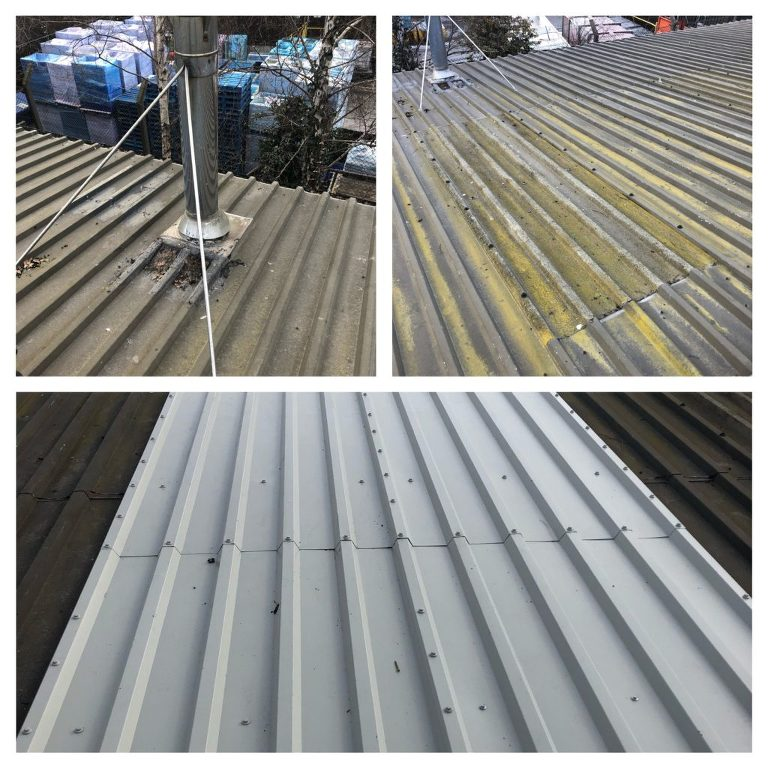 New Profiled Roofing Sheets Over Failed Penetrations